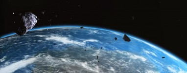 asteroid in space blowing up - photo #15