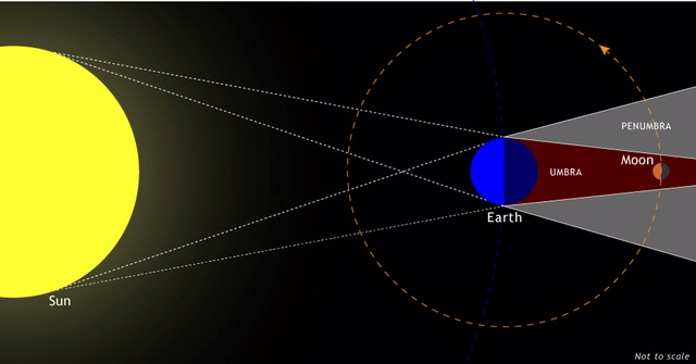 Eclipse Perspective: What Would an Astronaut See from the ...