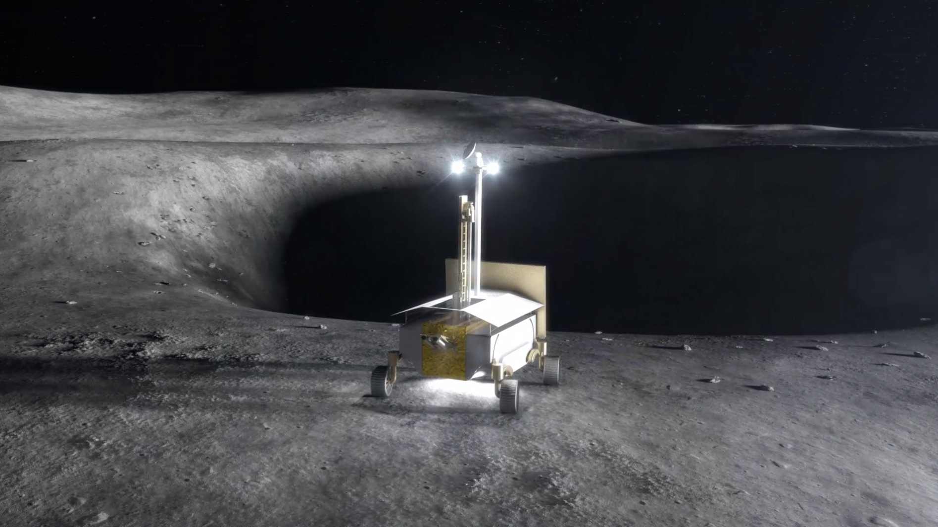 Concept of Work on Moon