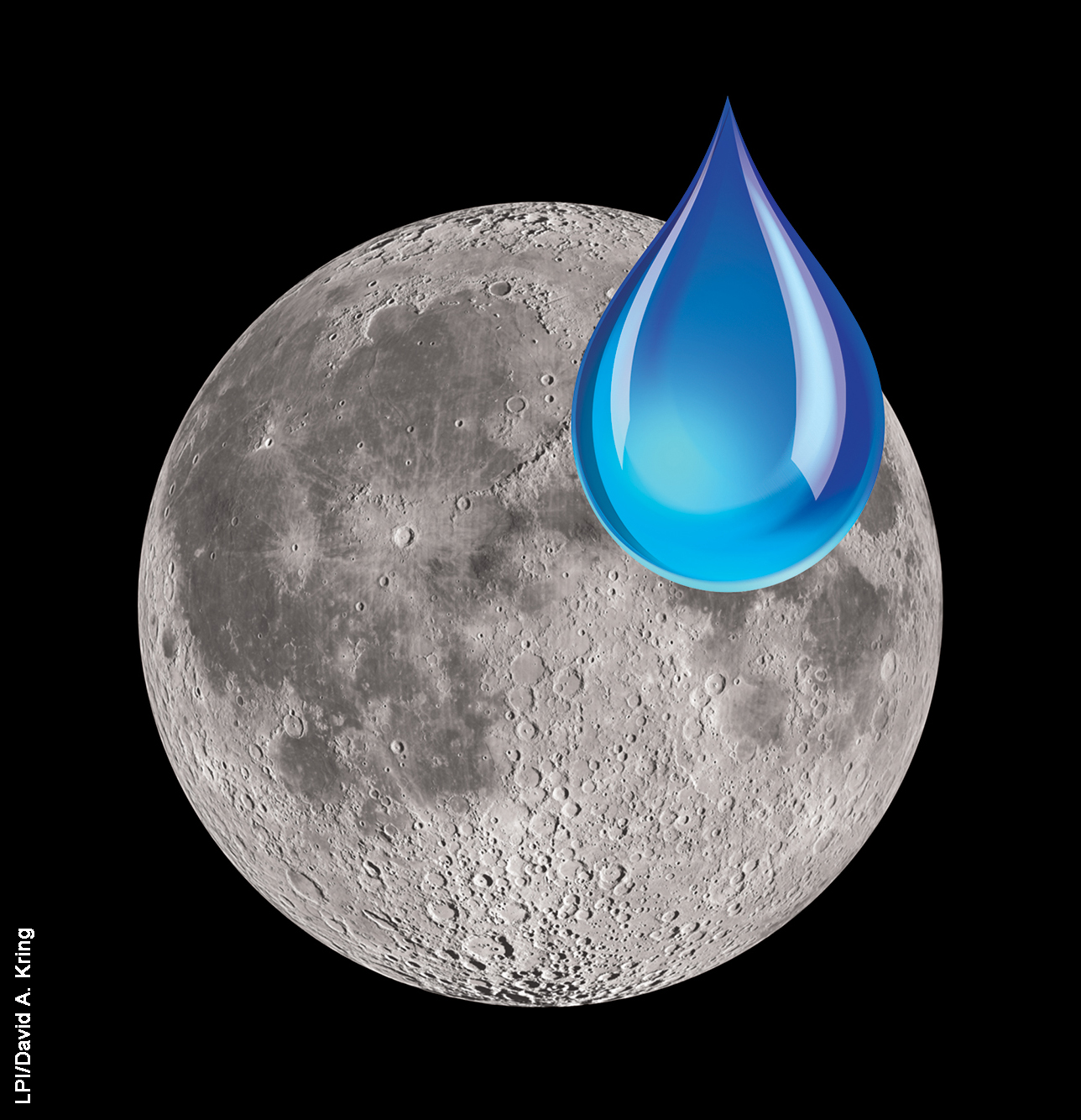 Source of Lunar Water 1 (LPI, David A. Kring)