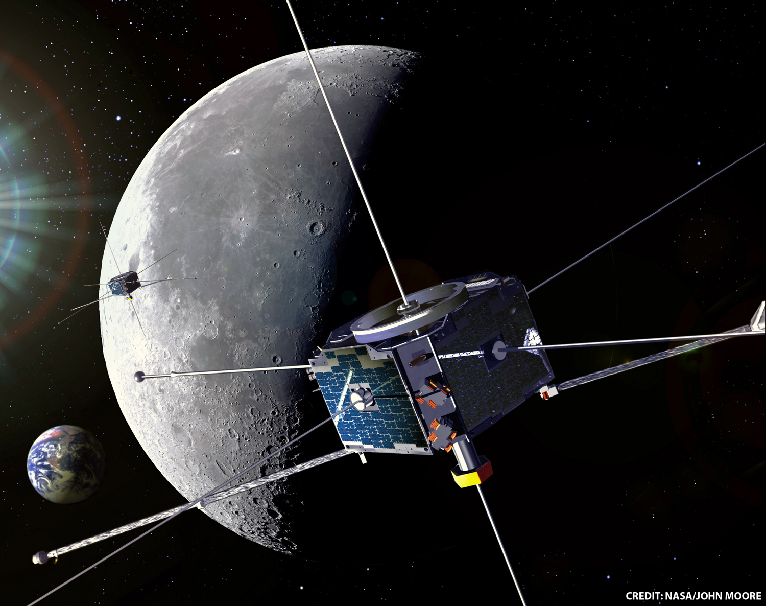 Lunar Sonic Booms | Solar System Exploration Research ...