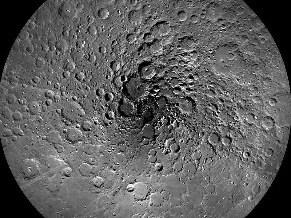 The Moon's North Pole | Solar System Exploration Research ...